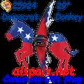 25924  Democrat Donkey : Flying Spinners (25924)