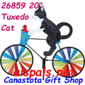 "26859  Tuxedo Cat 20""   Bicycle Spinners (26859)"
