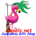 Florence Flamingo : Garden Charms Inflated (59105)