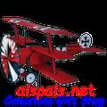 "Fokker Triplane 30"" : Airplane spinner (26306)"