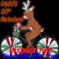 """26871  Reindeer 20"""": Bicycle Spinners (26871)"""