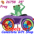 26758  Frog : Car Spinners (26758)