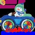 26765  Snowman: Car Spinner (26765)
