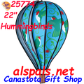 "25774 Hummingbird 22"" Hot Air Balloons (25774) Wind Spinner"