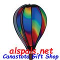 "Wavy Gradient 22"" Hot Air Balloons (25772) Wind Spinner"