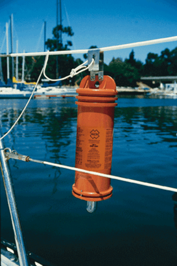 ACR 3940.1 SM-2 Automatic Crew-Overboard Marker Light with Bulkhead Bracket
