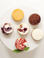 CBF Mini Cheesecake Assortment: Salted Caramel, Strawberry, White Chocolate Raspberry, & Blueberry Key Lime 13091-4