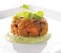 Sweet Potato & Cranberry Mini Veggie Cake - Vegan