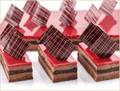 Chocolate Raspberry Half Sheet