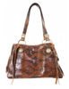Double J Caramel Bit Medium Tote Purse