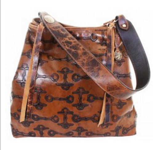 Double J Caramel Bit Big Tote Purse