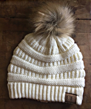 C.C Winter Pom  Beanie Hat