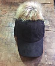 Fur Pom Cap