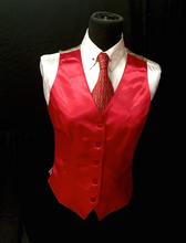 Ladies' Red Investment Vest