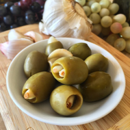 Garlic Stuffed Olives - 12oz