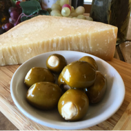 Parmesan Romano Stuffed Olives - 12oz