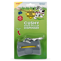 Bags on Board Cushy Dog Waste Pickup Bag Dispenser for Leashes - Gray