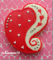 SWIRLED HEART RIGHT COOKIE CUTTER