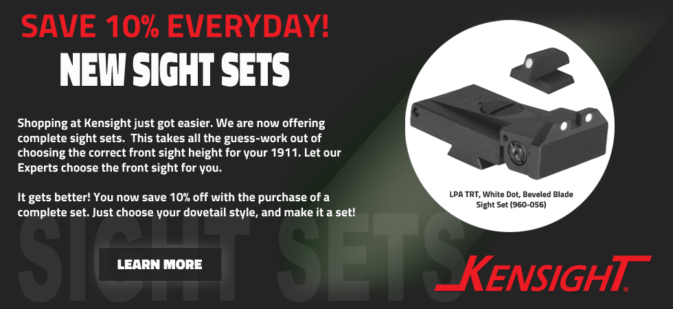 Save 10% with Kensight Sight Sets