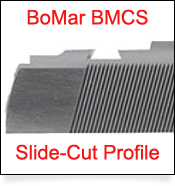 1911 Slide Cut Dovetail Profile for BoMar BMCS Sight
