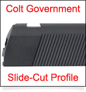 1911 Slide Cut Dovetail Profile for GI Government  Sight