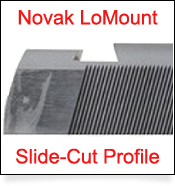 1911 Slide Cut Dovetail Profile for Novak LoMount Sight