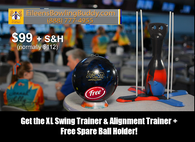As Seen On TV Deal: Swing Trainer, Alignment Trainer & FREE Spare Ball Holder