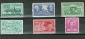 United States 1949 Commemorative Year Set, Scott Cat. Nos. 0981 - 0986, MNH