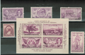 United States 1936 Commemorative Year Set, Scott Cat. Nos.  0776  - 0778, 782 - 784, MNH