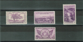 United States 1935 Commemorative Year Set, Scott Cat. Nos.  0772  - 0775, MNH