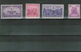 United States 1938 Commemorative Year Set, Scott Cat. Nos.  0835 - 0838, MNH