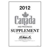 2012 H. E. Harris Canada Album Supplement