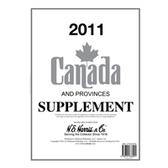 2011 H. E. Harris Canada Album Supplement
