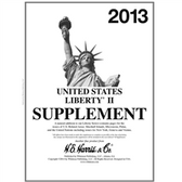 2013 H. E. Harris Liberty II Album Supplement