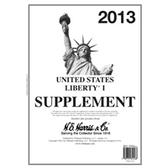 2013 H. E. Harris Liberty I Album Supplement