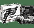 ASRock Motherboard AB350 Pro4