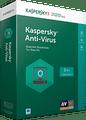 Kaspersky Antivirus 2017 1Yr 3PC/3Devices Retail