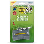 Bags on Board Cushy Dog Waste Pickup Bag Dispenser - Gray