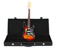 Stevie Ray Vaughan SRV 1 Guitar Miniature Distressed with Case HD