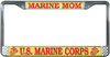 License Plate Frame, Marine Mom, US Marine Corps