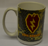 Coffee Mug, 25th Infantry Patch