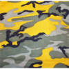 "22"" Yellow Camo Bandana"