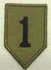 Multicam Patch, 1st Infantry