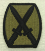 Multicam Patch, 10th Infantry Division