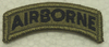 Multicam Patch, Airborne Tab