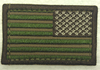American Flag Patch,  Reverse Multicam