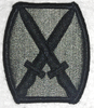 ACU Patch, 10th Infantry Division