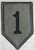 ACU Patch, 1st Infantry