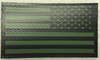 IR Flag, Reverse Green & Black