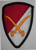 Class A Patch, 6th Cavalry Brigade
